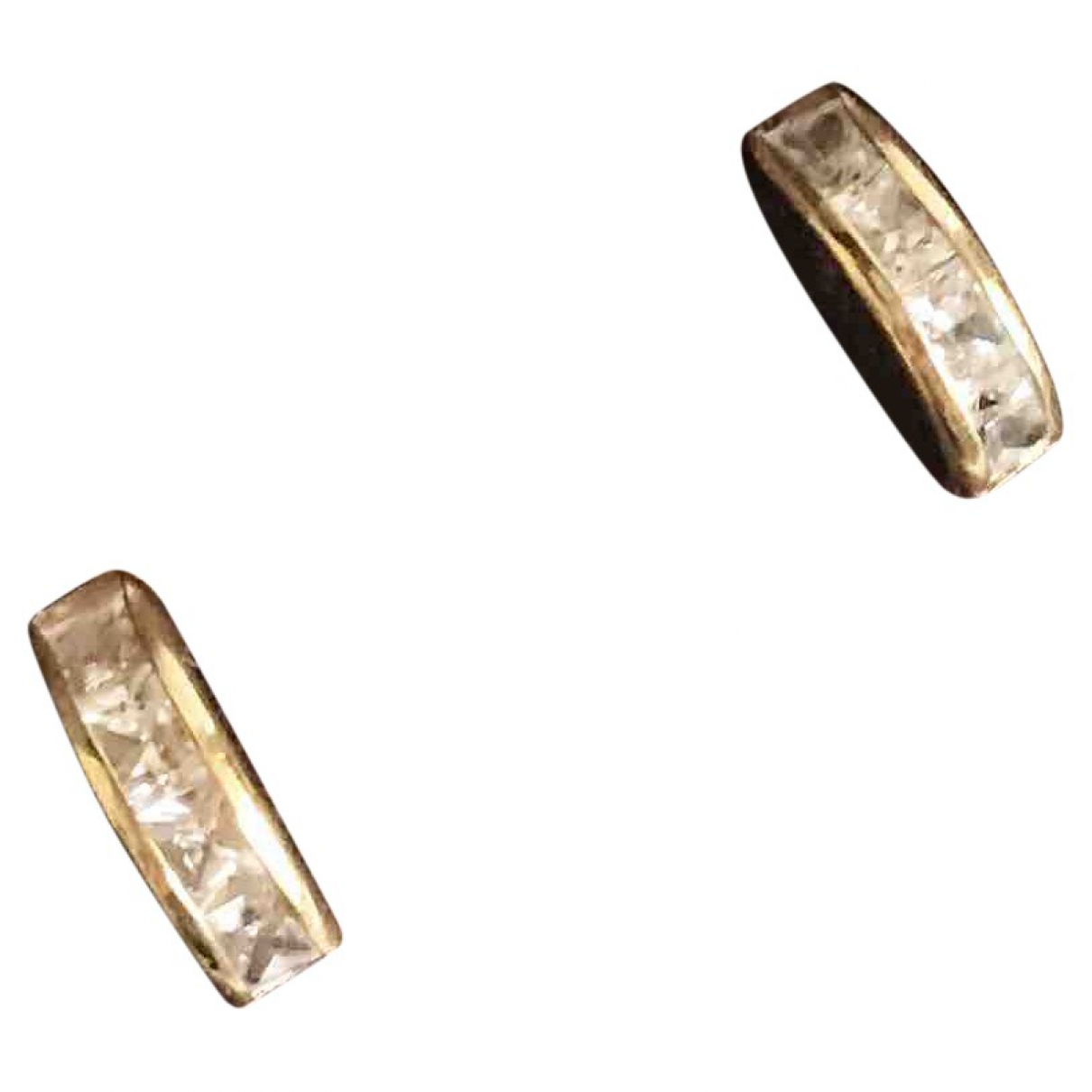 Non Signe / Unsigned \N OhrRing in  Gold Gelbgold