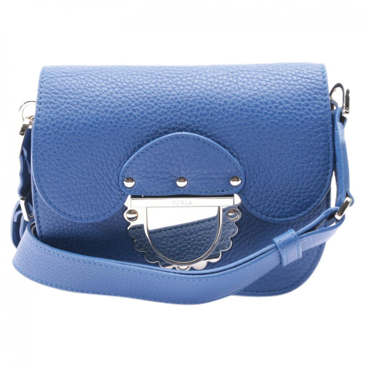 Furla \N Blue Leather Clutch bag for Women \N