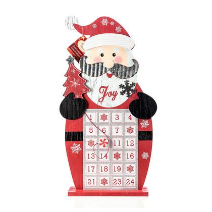 Christmas Magnetic Wooden Advent Calendar 16''