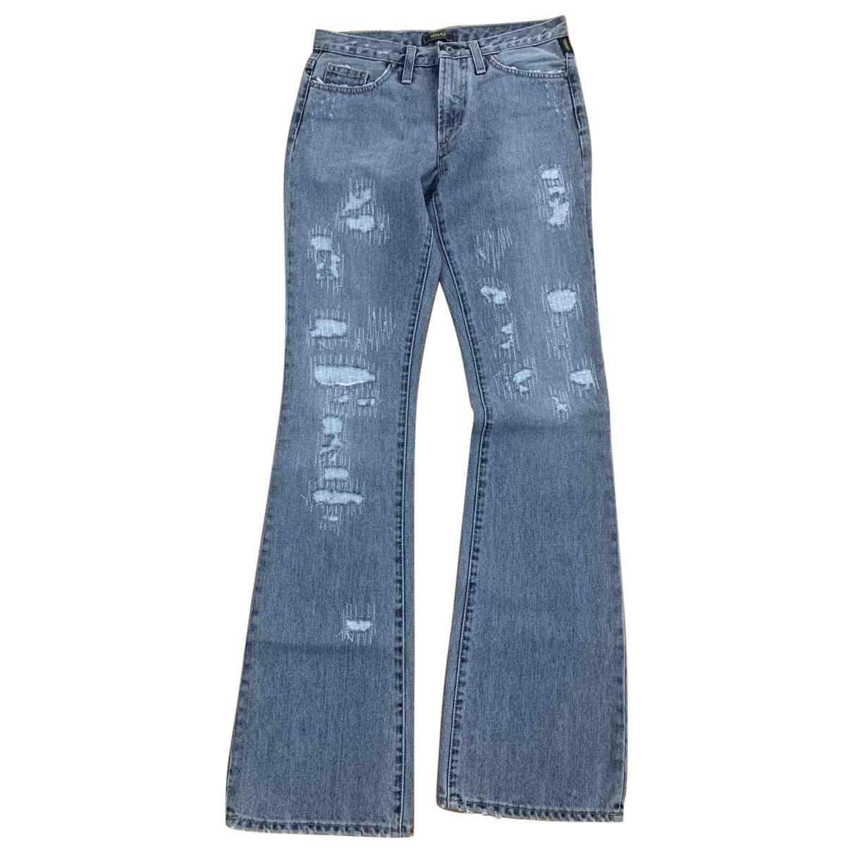 Versace Jeans \N Blue Denim - Jeans Jeans for Women 26 US
