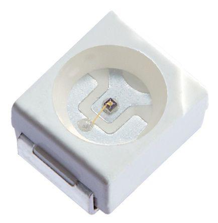 Kingbright 2.5 V Orange LED PLCC 2 SMD,  KA-3528SECKT (50)