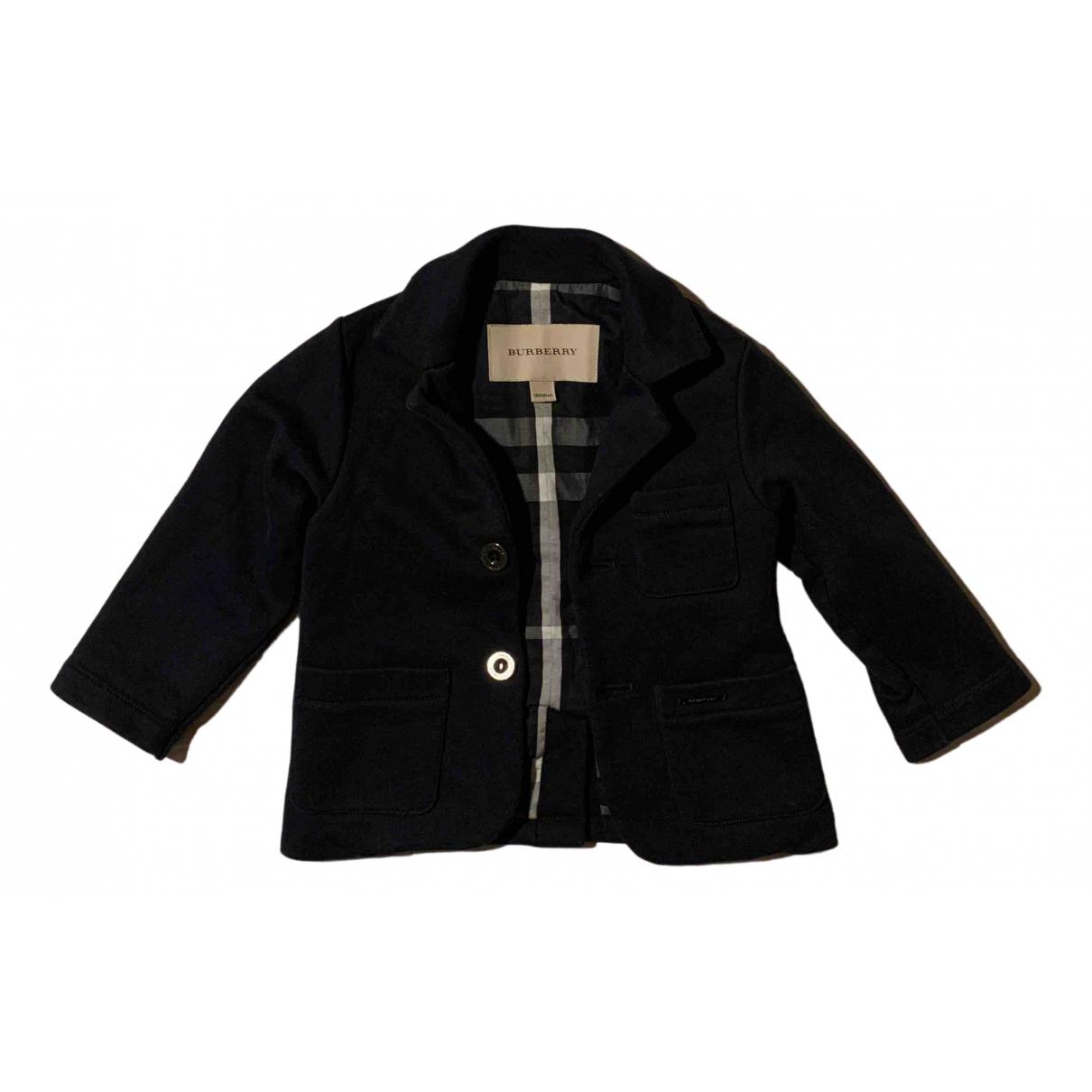 Burberry N Blue Cotton jacket & coat for Kids 18 months - up to 81cm FR