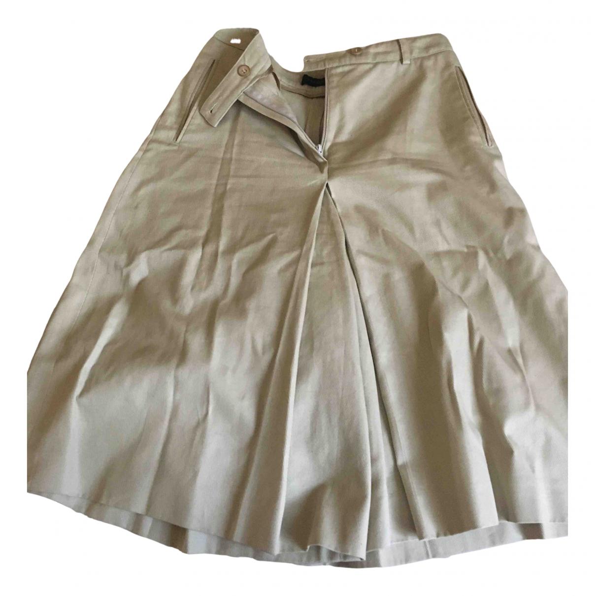 Peserico - Jupe   pour femme en coton - beige