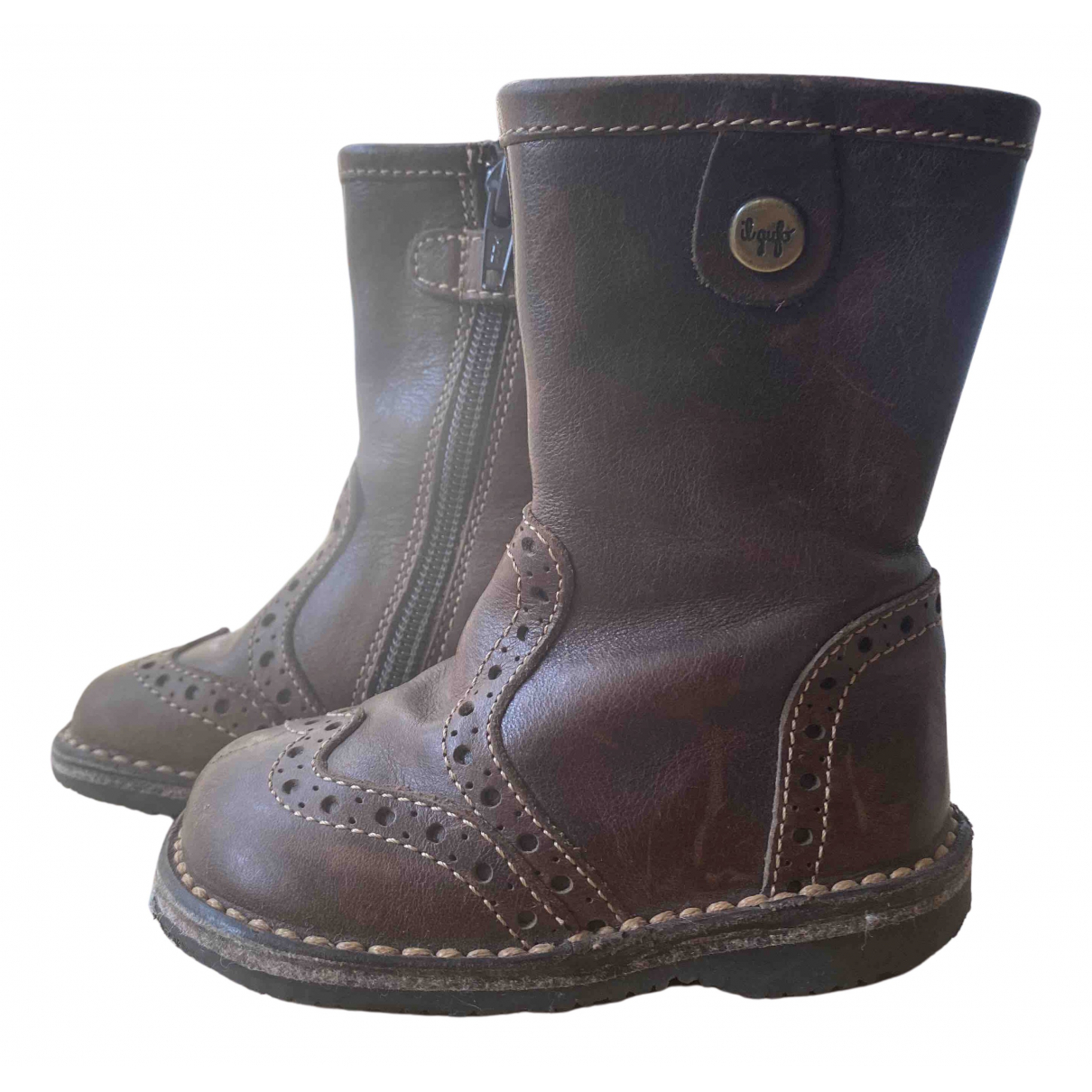 Botas de Cuero Il Gufo