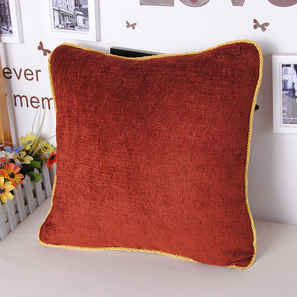 Super Cozy Chenille Solid Color Throw Pillowcase