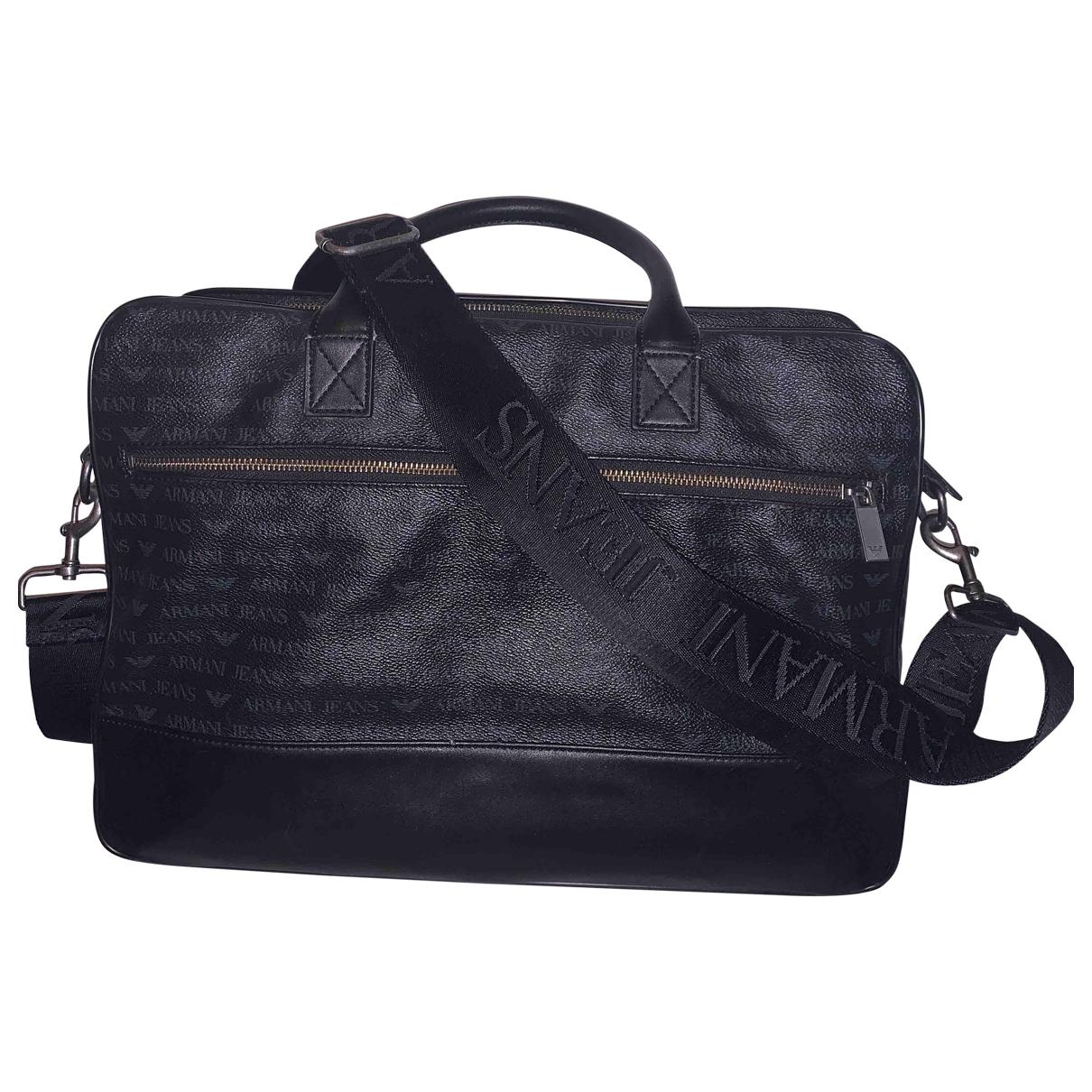 Armani Jeans \N Black Travel bag for Women \N