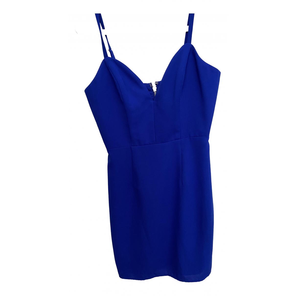 Naven \N Kleid in  Blau Baumwolle - Elasthan