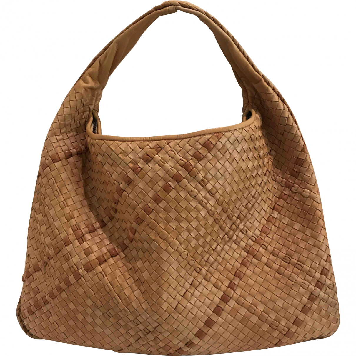 Bottega Veneta Veneta Beige Leather handbag for Women \N