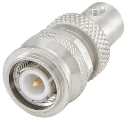 Rosenberger Straight 50Ω RF Adapter TNC Plug to BNC Socket 10GHz