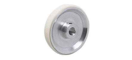 ifm electronic Encoder Wheel Circumference 20cm, 10mm Wheel Bore Aluminium