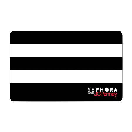 Sephora Inside JC Penney Gift Card, One Size , No Color Family