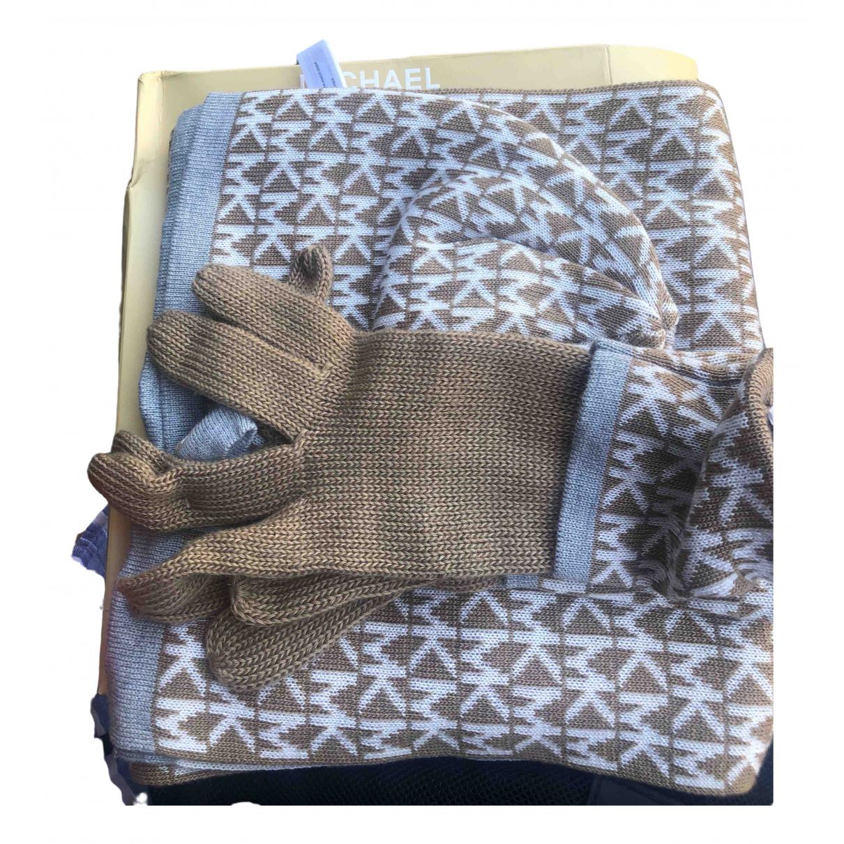 Michael Kors \N Handschuhe in  Beige Wolle