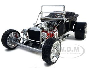 1923 Ford T-Bucket Roadster Black 1/18 Diecast Model Car by Road Signature