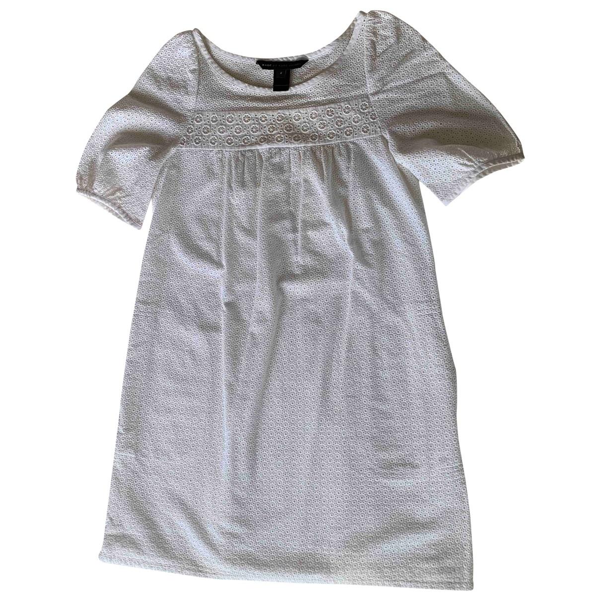 Marc By Marc Jacobs - Robe   pour femme en coton - blanc