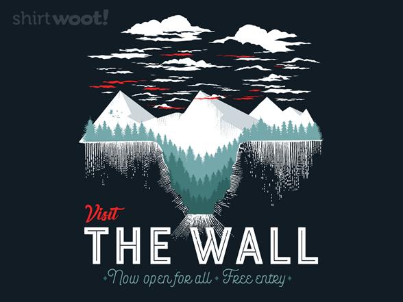 Visit The Wall T Shirt