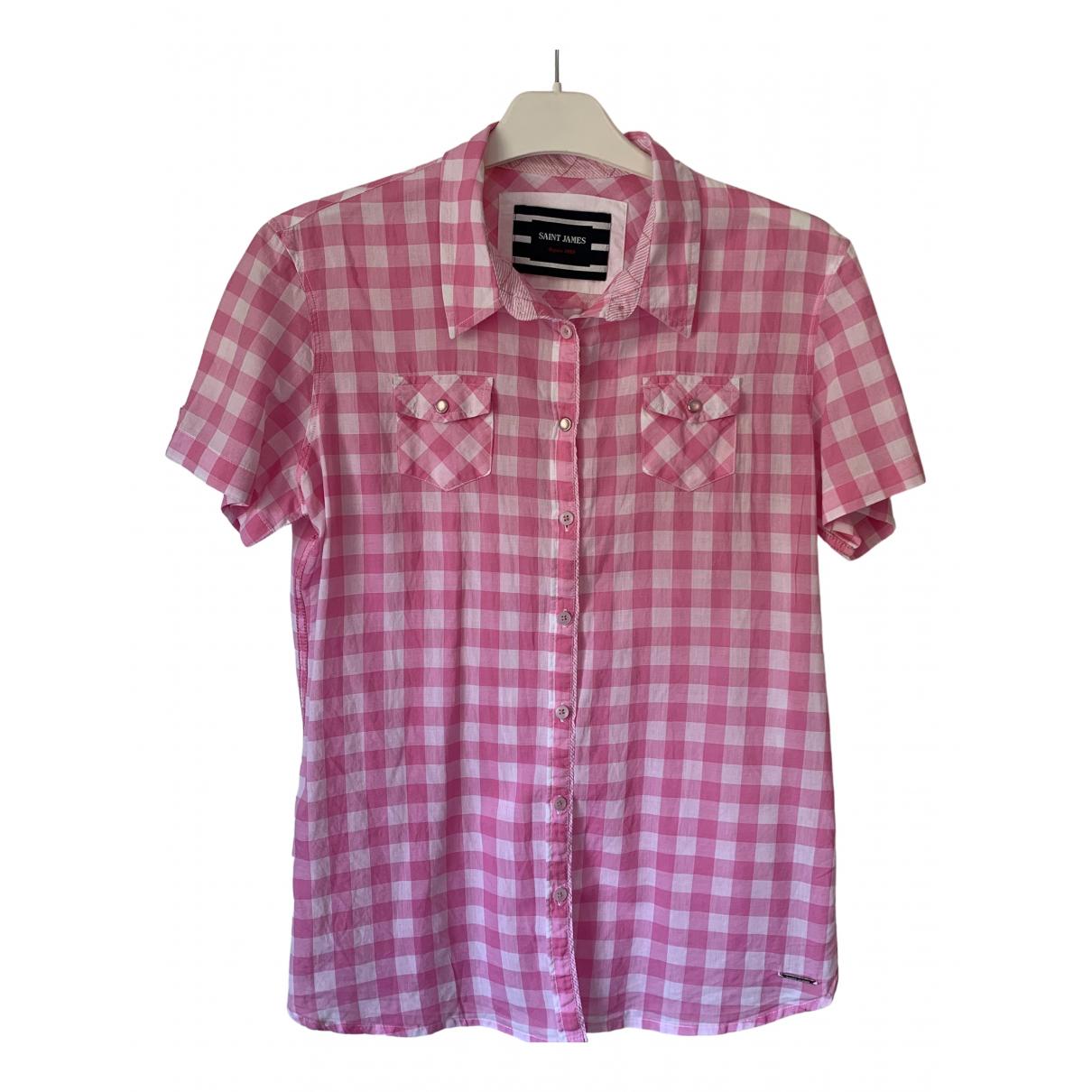 Saint James \N Pink Cotton  top for Women 38 FR