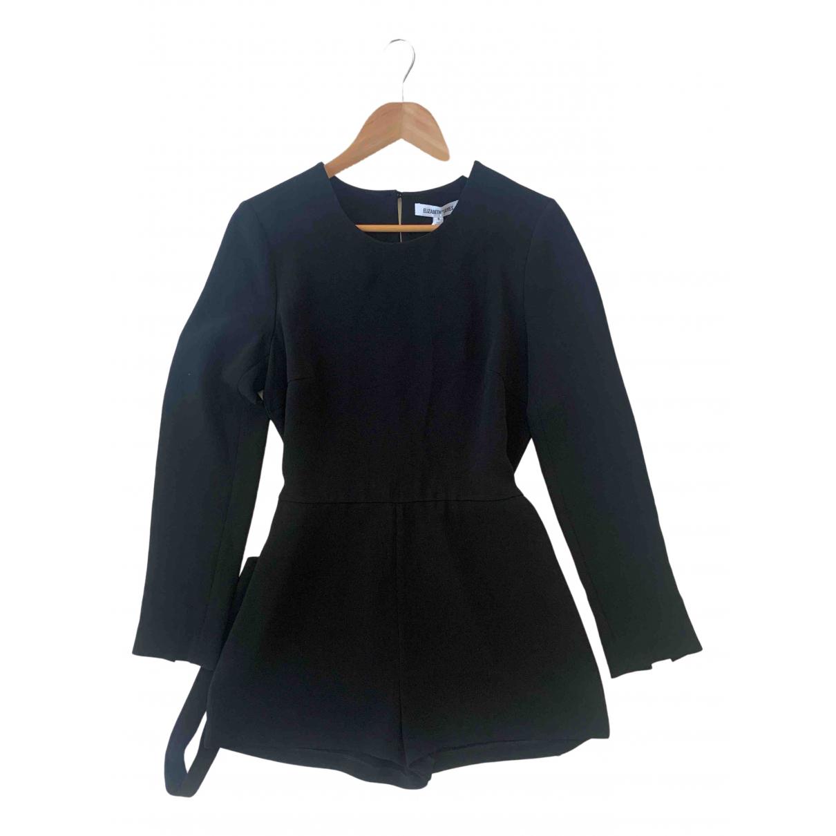 Elizabeth And James N Black jumpsuit for Women 8 US