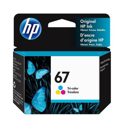 HP 67 3YM55AN Original Tri-Color Ink Cartridge