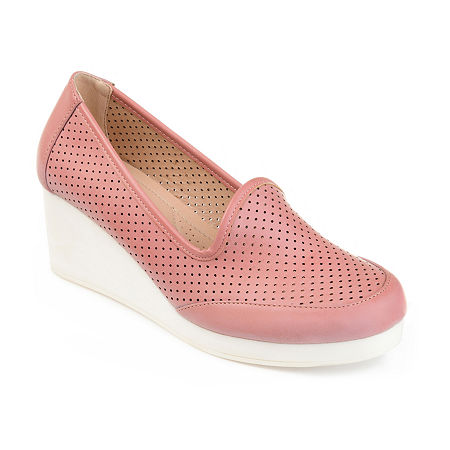 Journee Collection Womens Safire Slip-On Shoes, 10 Medium, Pink