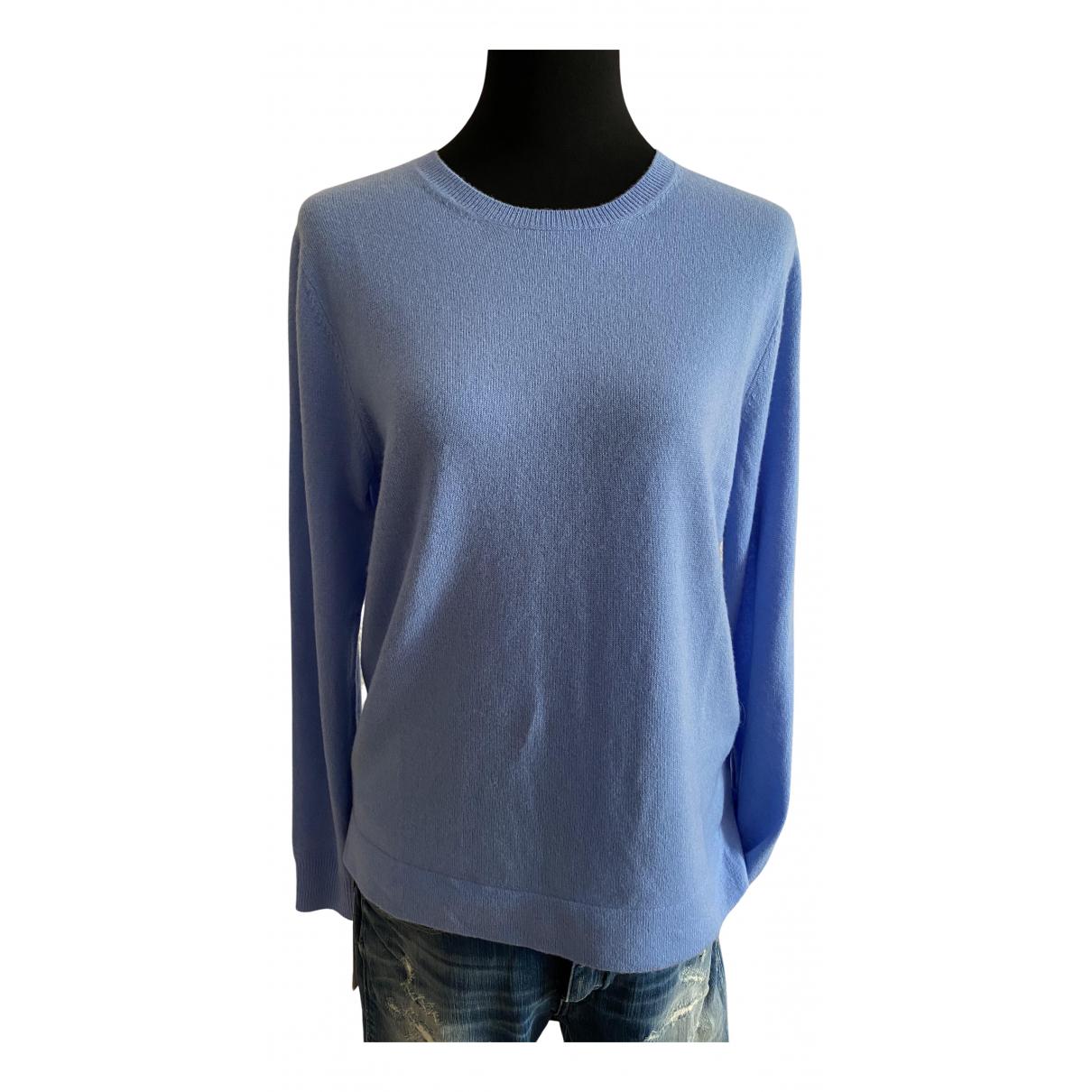 Polo Ralph Lauren - Pull   pour femme en cachemire - bleu