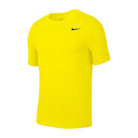 Nike Mens Dri-Fit T-Shirt, X-large , Yellow