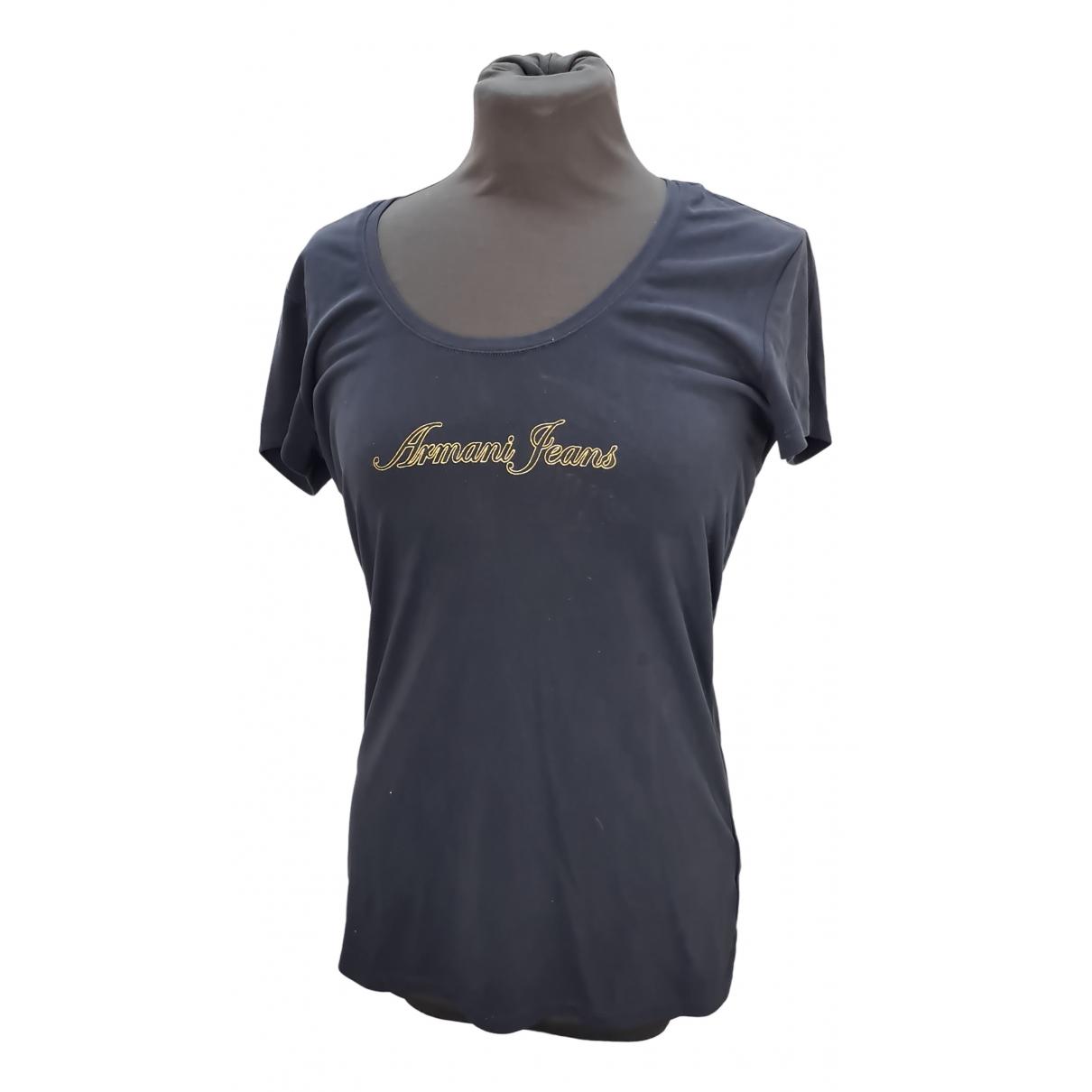 Armani Jean - Top   pour femme en coton - bleu