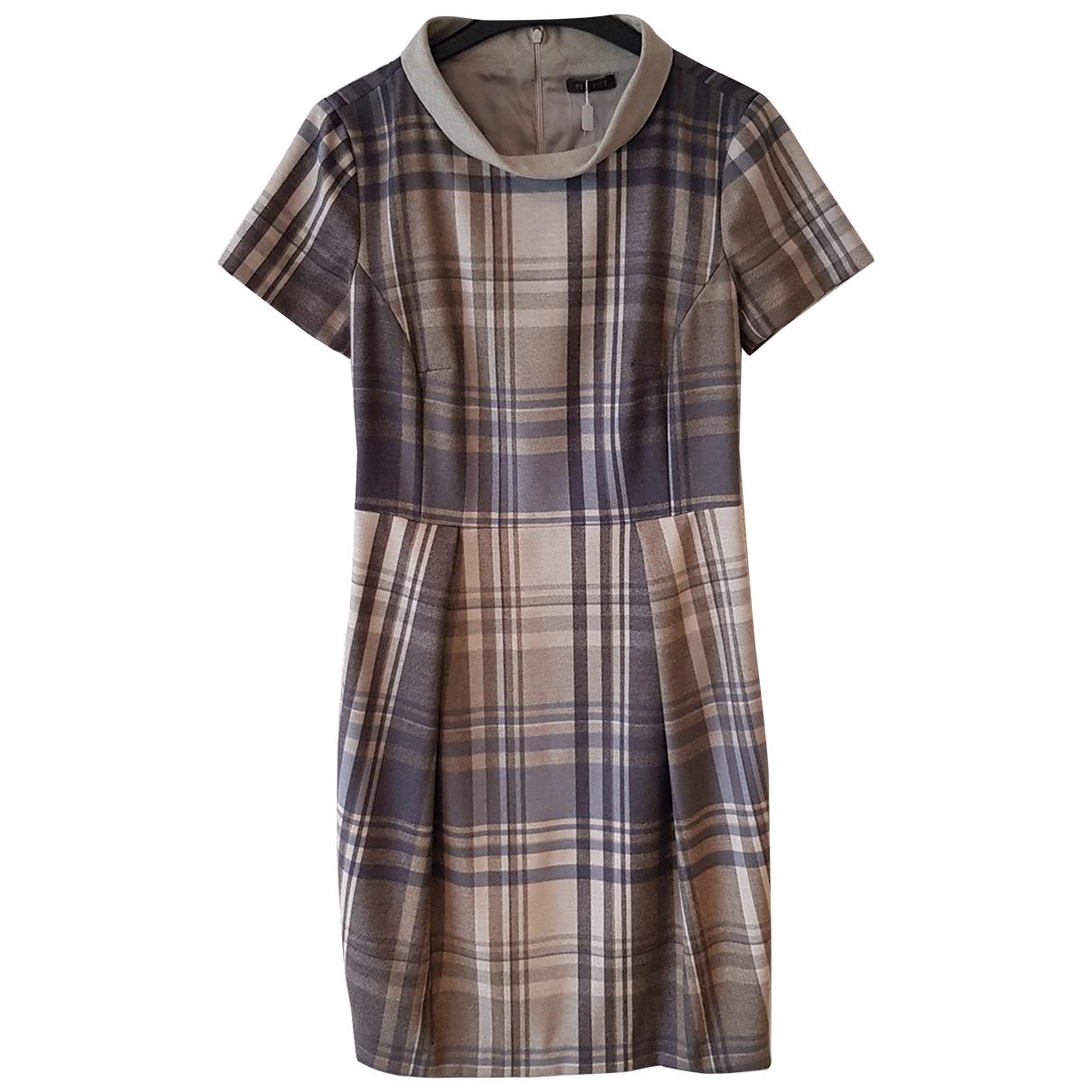 Peserico \N Kleid in  Grau Polyester