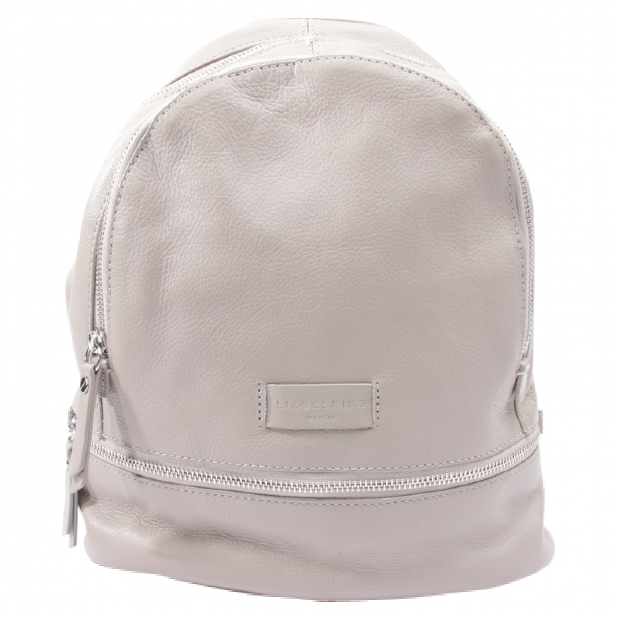 Autre Marque \N Grey Leather backpack for Women \N
