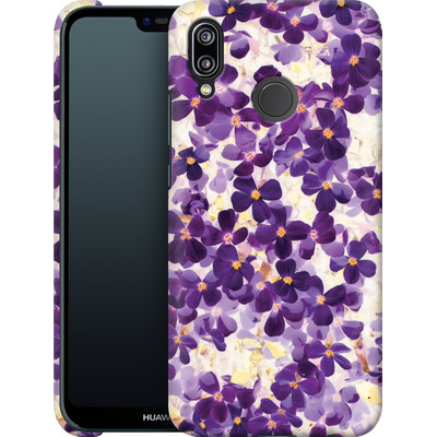 Huawei P20 Lite Smartphone Huelle - Violet Bloom von Amy Sia