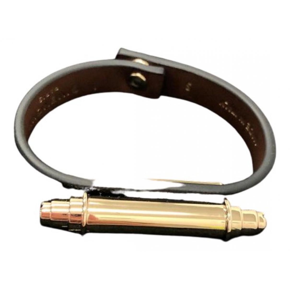 Givenchy \N Armband in  Schwarz Leder