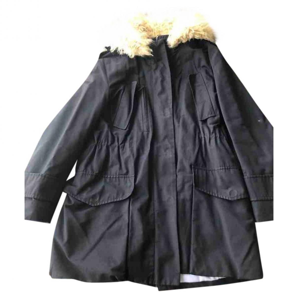Bimba Y Lola - Manteau   pour femme en coton - marine