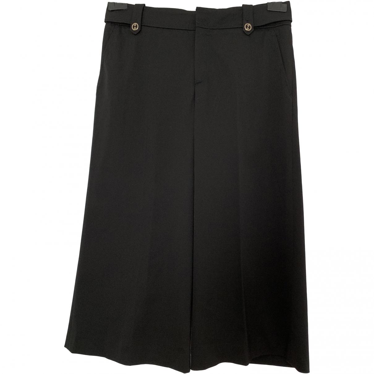Gucci \N Black Wool Shorts for Women 38 FR