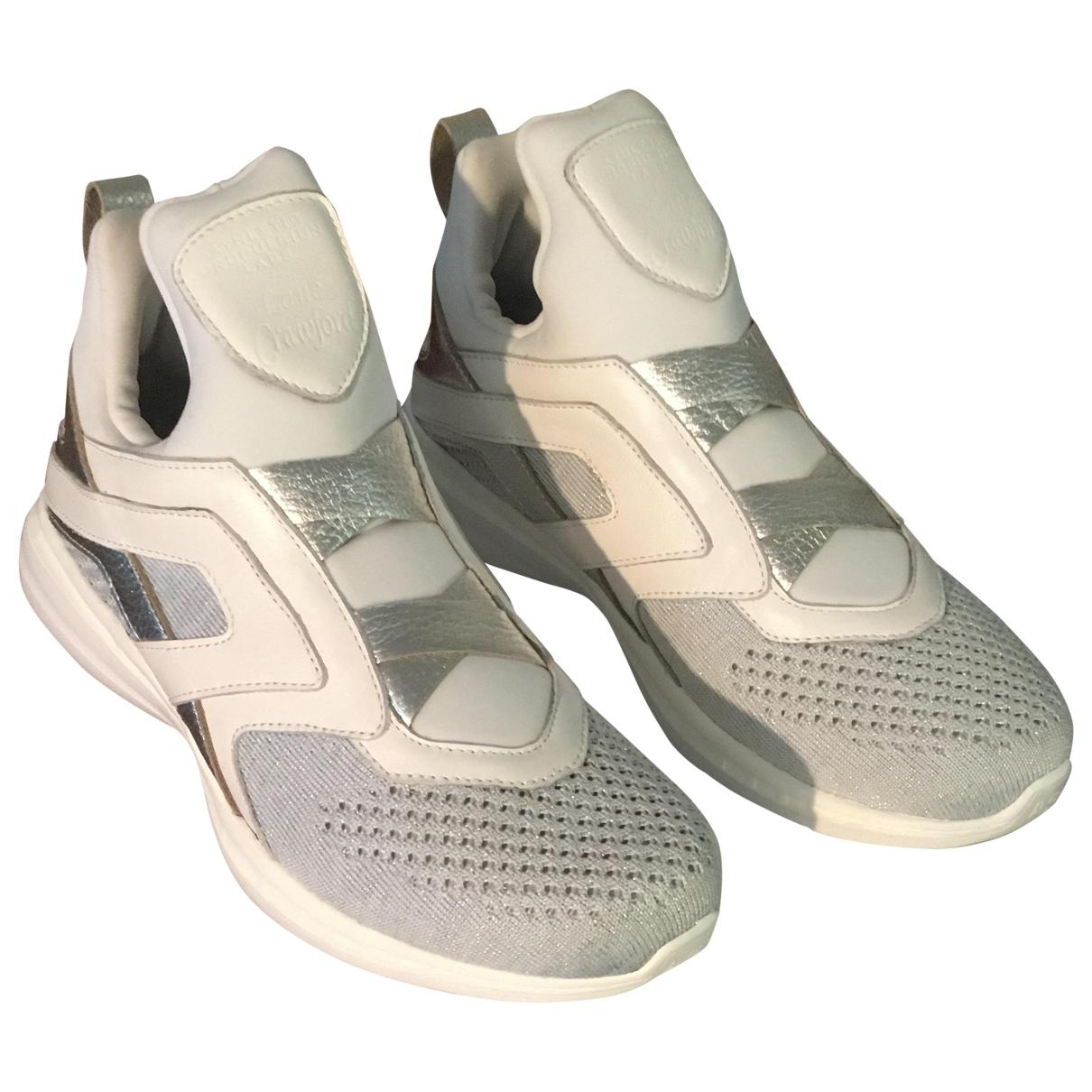 Apl Athletic Propulsion Labs - Baskets   pour femme en cuir - blanc