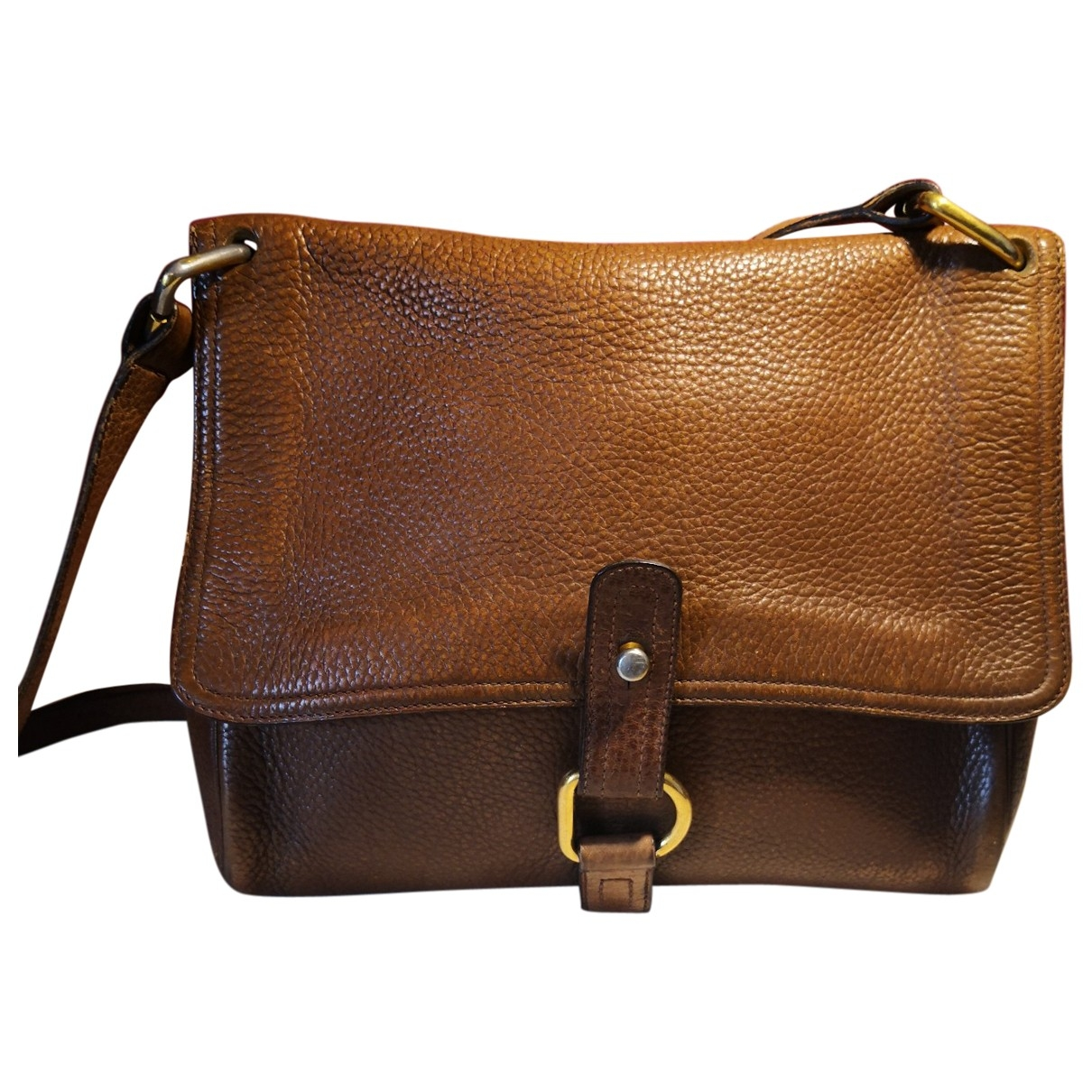 Delvaux \N Handtasche in  Kamel Leder