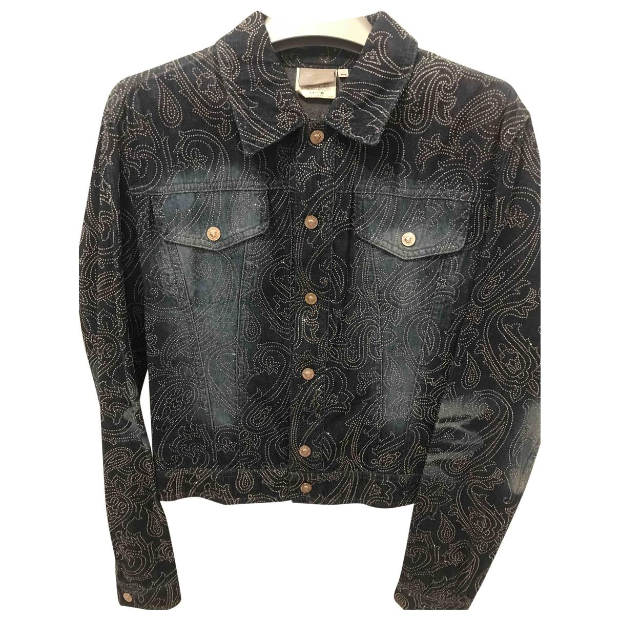 Versace Jeans \N Jacke in  Blau Denim - Jeans