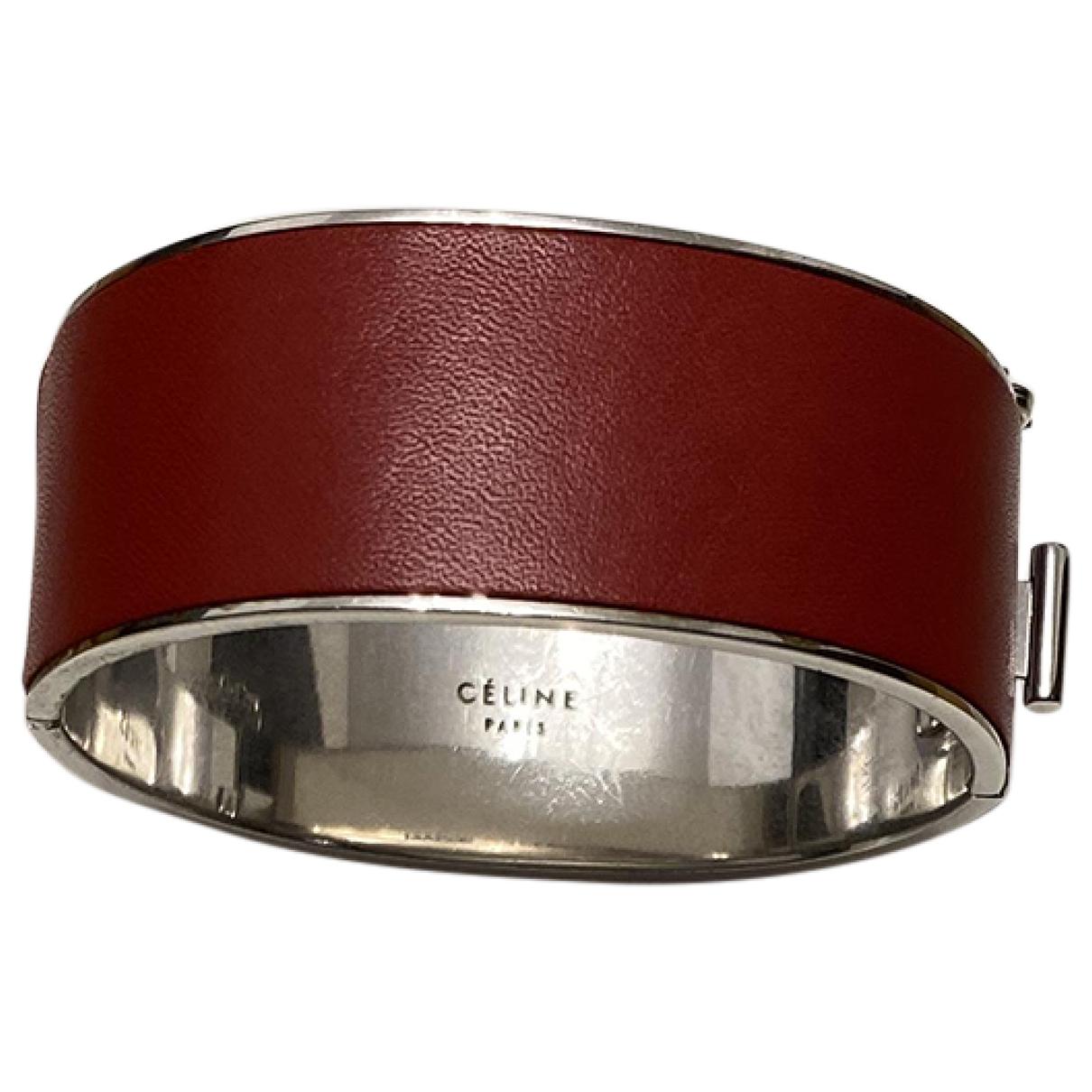 Celine - Bracelet   pour femme en metal - rouge