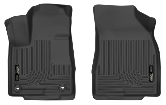 Husky Liners 52311 14-18 Toyota Highlander Front Floor Liners Black