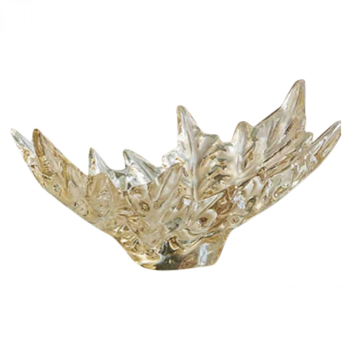 Lalique \N Accessoires und Dekoration in  Gold Kristall