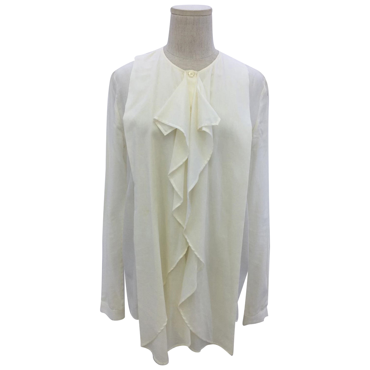 Alexander Mcqueen \N White Cotton  top for Women 38 IT