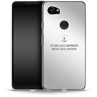 Google Pixel 2 XL Silikon Handyhuelle - Ich Bin Aus Hamburg von caseable Designs