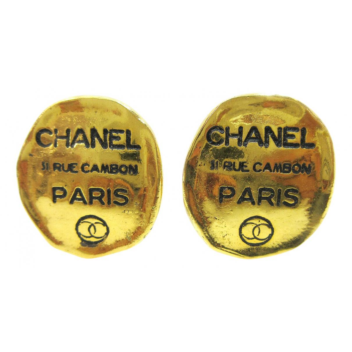 Chanel - Boucles doreilles   pour femme en or blanc