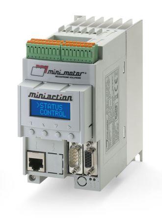 Mini Motor Inverter Drive, 3-Phase In 0.75 kW, 230 V ac, 10 A