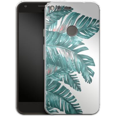 Google Pixel XL Silikon Handyhuelle - Tropical Blue von Mark Ashkenazi