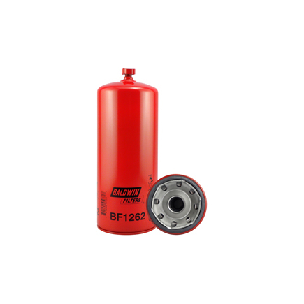 Baldwin BF1262 - Fuel/Water Separator Spin On With Drain Filter
