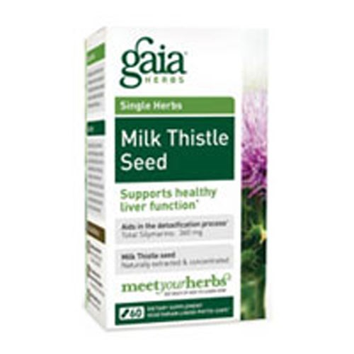 Milk Thistle Seed 120 caps by Gaia Herbs