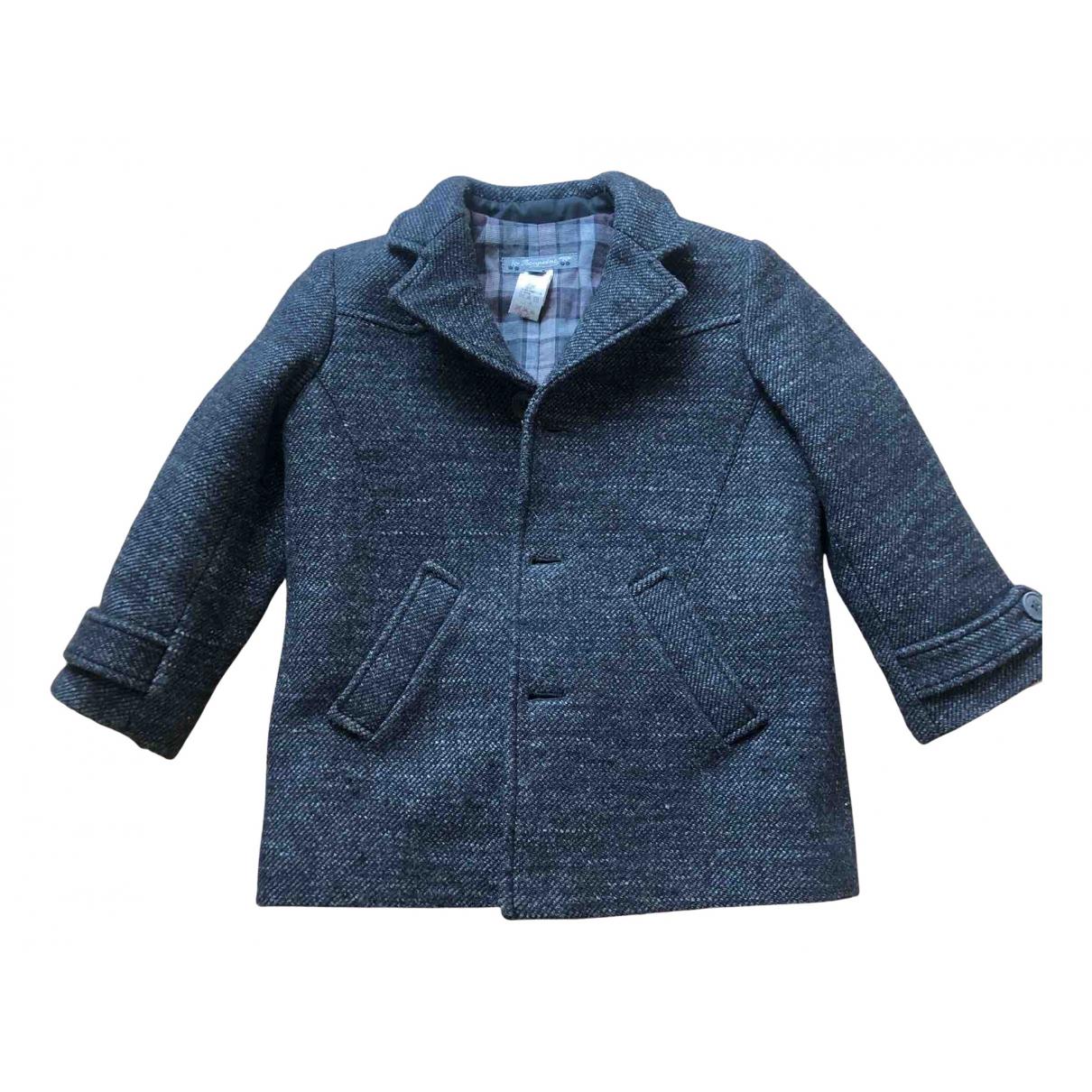 Bonpoint - Blousons.Manteaux   pour enfant en coton - gris