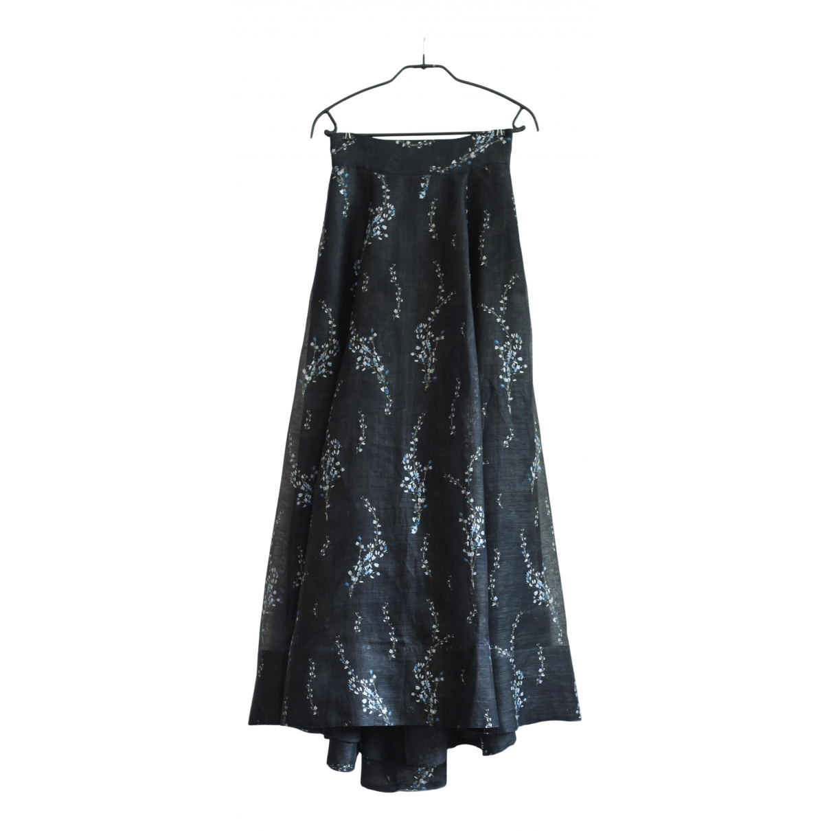 H&m Conscious Exclusive N Black Silk skirt for Women 34 FR