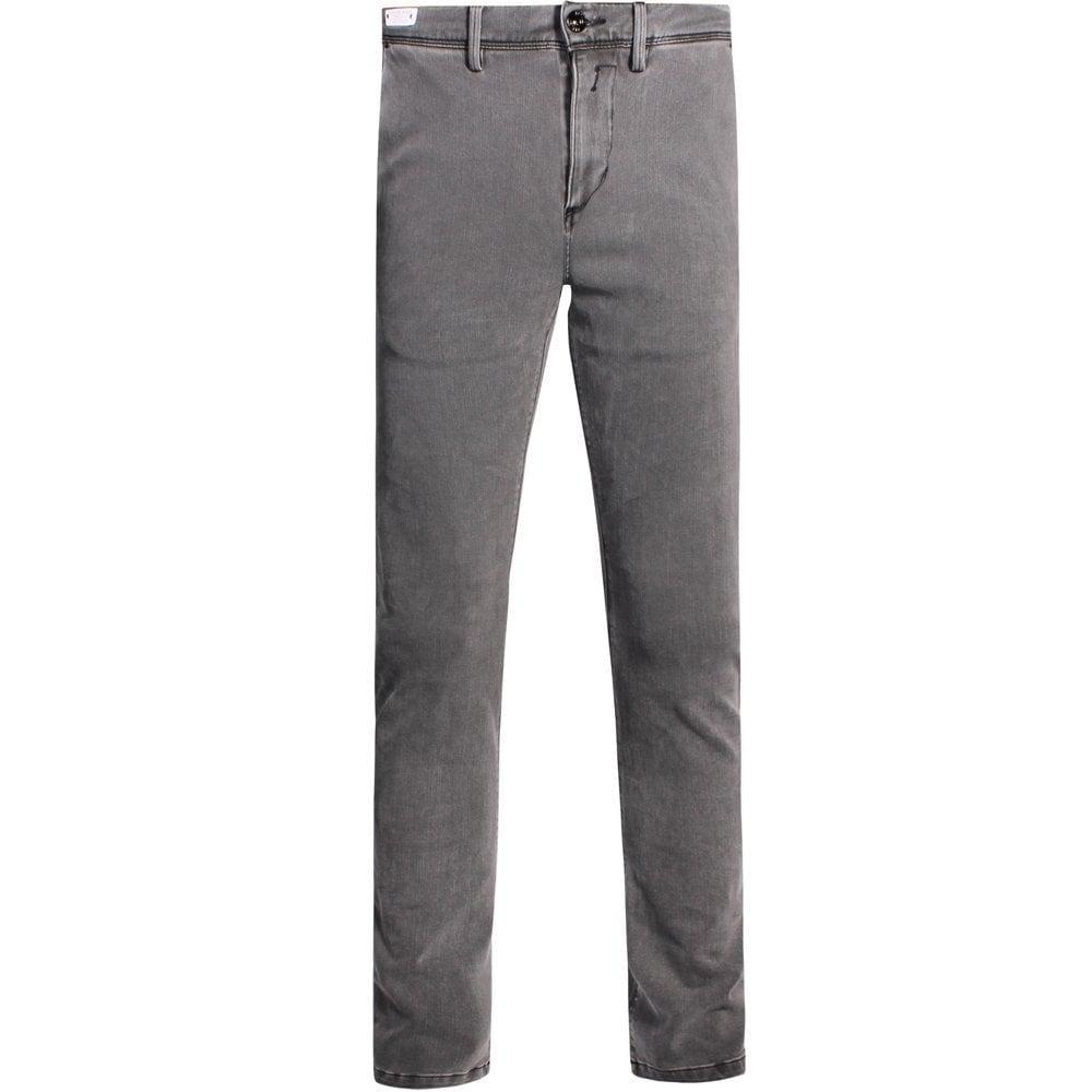 Replay Hyperflex Plus Jeans Grey  Colour: GREY, Size: 30 32