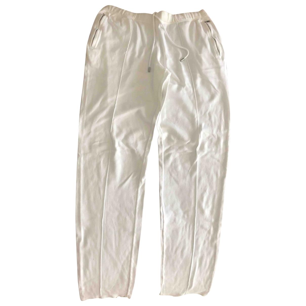 Gucci \N White Cotton Trousers for Men L International