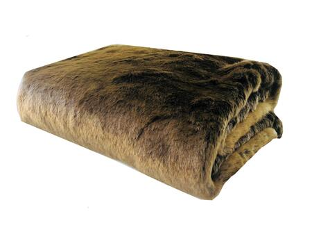 Tissavel Volga Rabbit Faux Fur Collection PBSF1446-6090-TC 60W x 90L Handmade Luxury
